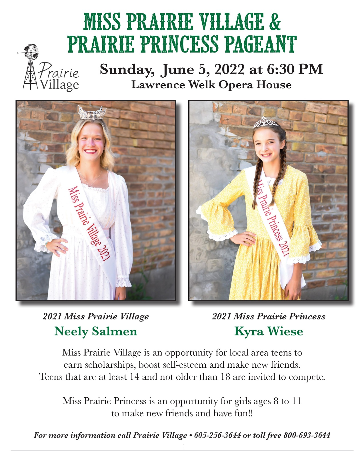 Prairie Village Pageant