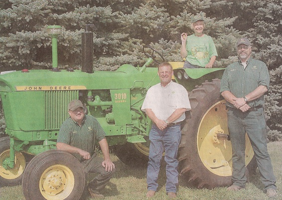 Winners and Tractor