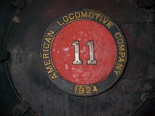 No. 11 front badge 1924
