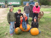 10/03/15 1PM Family with pumpkins