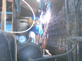 10/22/15 #29 stay bolt welding