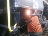 10/20/2015 #29 stay bolt welding