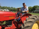 young ride on Massey