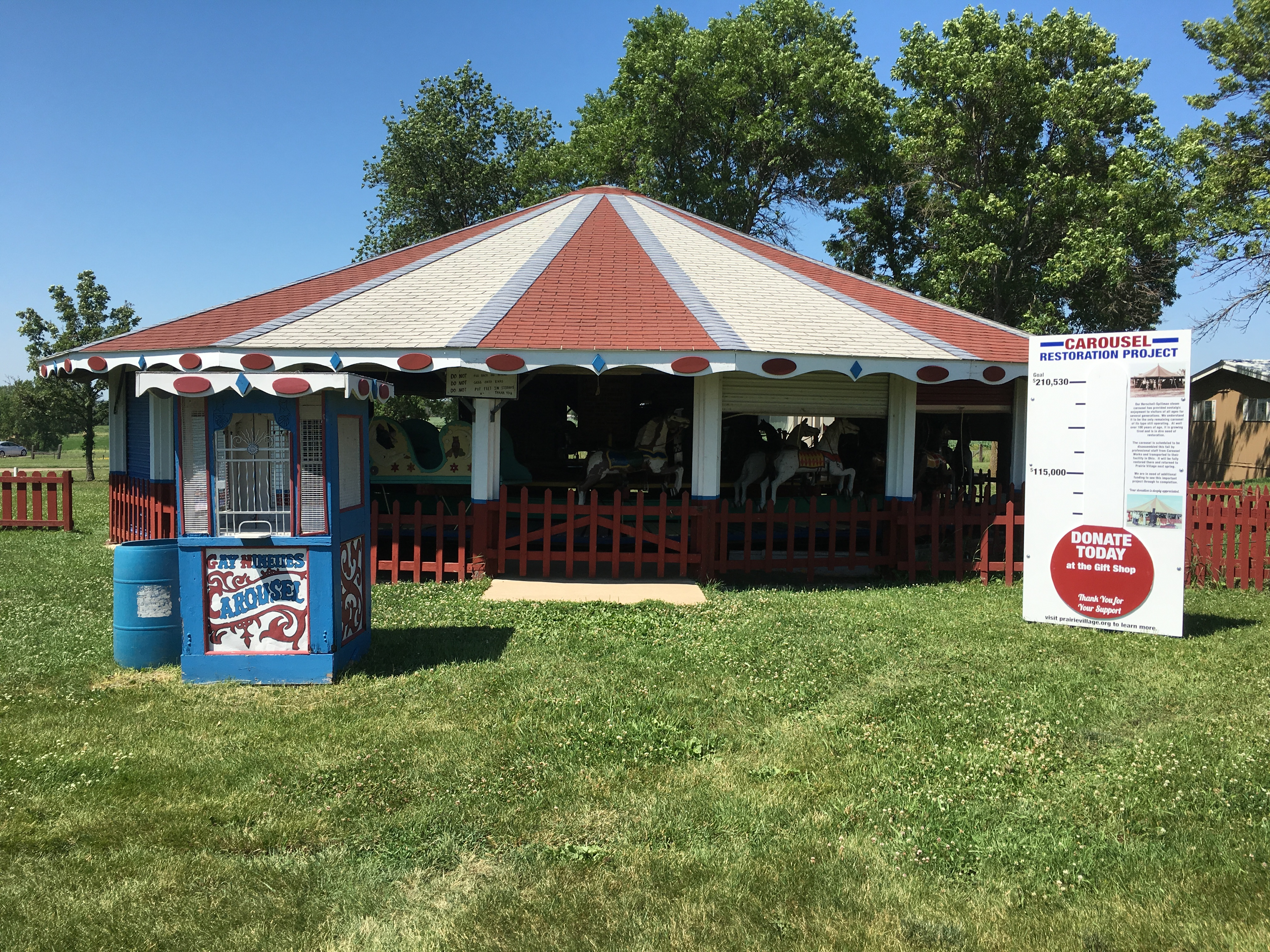 Carousel – Historic Prairie Village