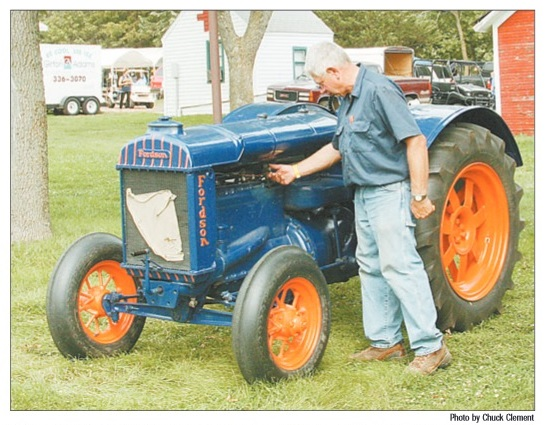 Mankato man displays English-built Fordson