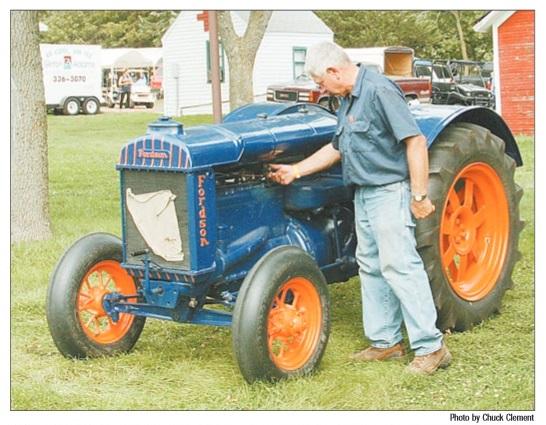 Mankato man displays English-built Fordson