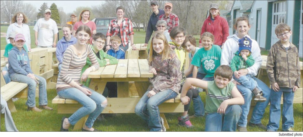 4-H'ERS Built Picnic Tables