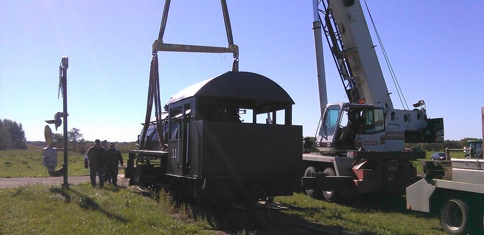 Restored #11 steam engine returns to Prairie Village