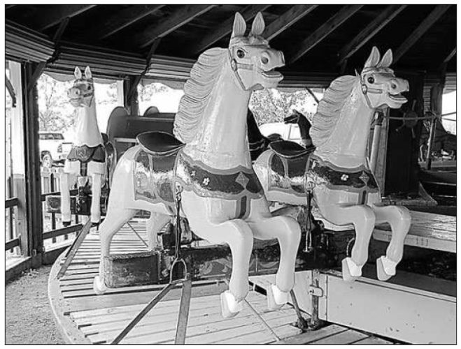 Prairie Village's wooden horses given national nod