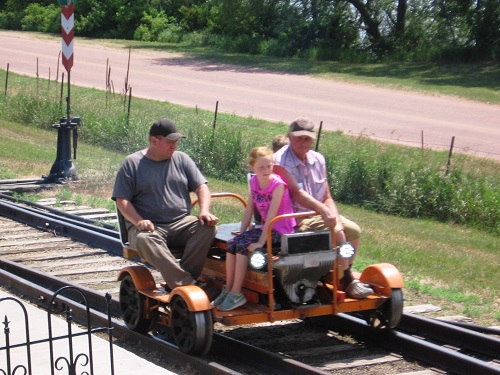 When railroad volunteers go out to play...