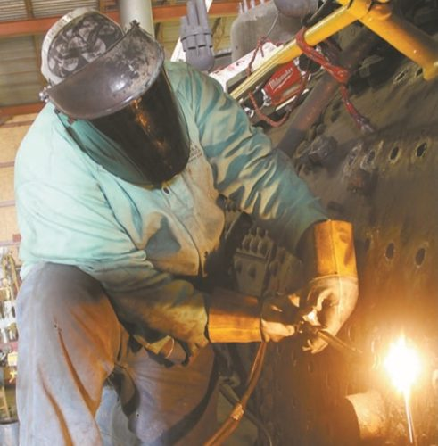 Boilermakers needed to keep steam engines operating