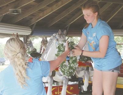 Return of historic carousel celebrated at Prairie Village